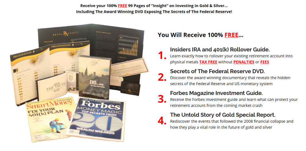 free gold ira review investment kit