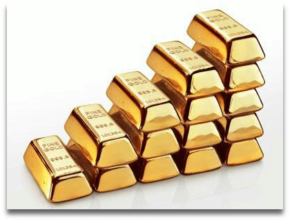 gold price goes up