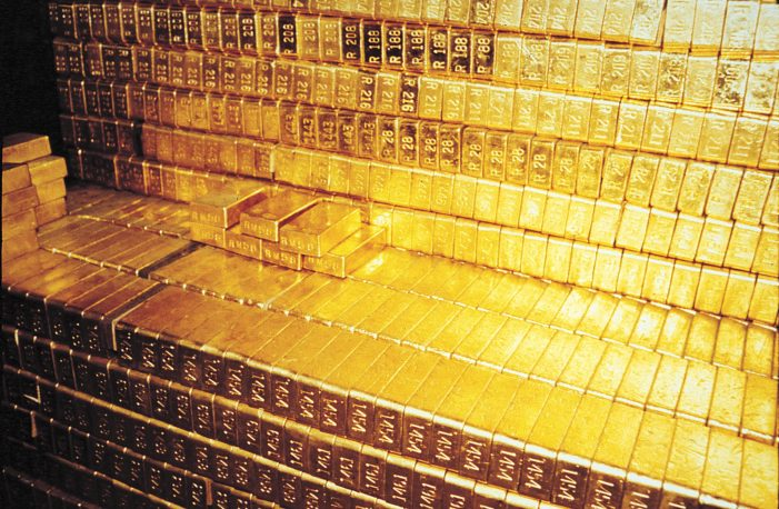 gold shares will have their day