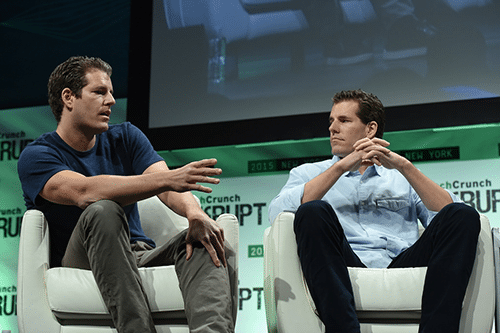 Winklevoss Twins At TechCrunch